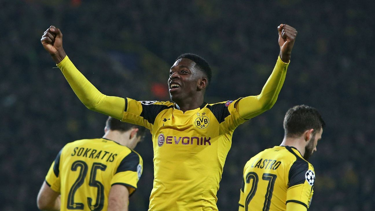 Ousmane Dembele has been the key to Dortmund's incredible attack so far in 2017.