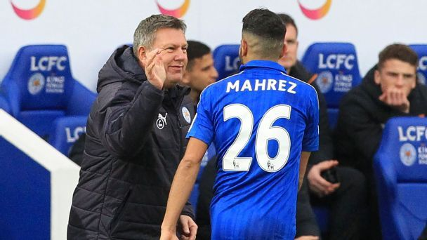 Riyad Mahrez's struggles in the Premier League this season have not carried over to the Champions League.