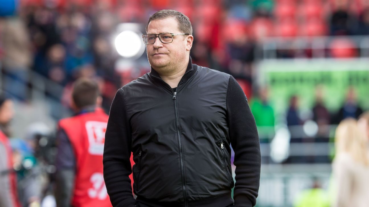 Max Eberl has been linked with a move to Bayern Munich.