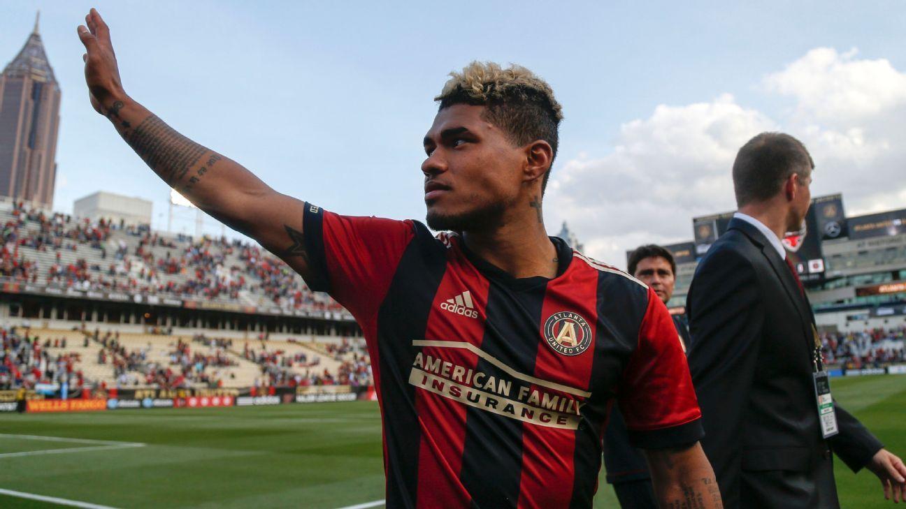 Atlanta United's Josef Martinez set to play vs. NYCFC after injury