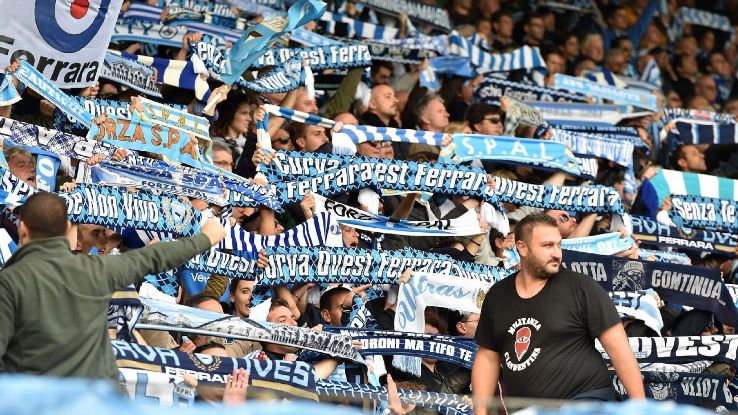 SPAL supporters