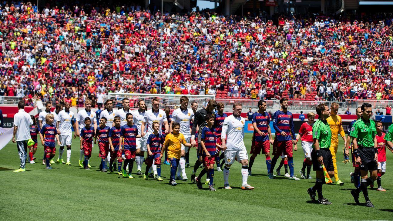 Chelsea Vs Manchester United Vs Fc Barcelona: International Champions Cup 2017 Schedule Man United Vs