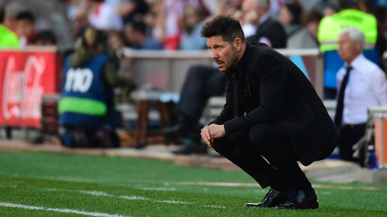 Diego Simeone's side will let defense carry their title hopes.