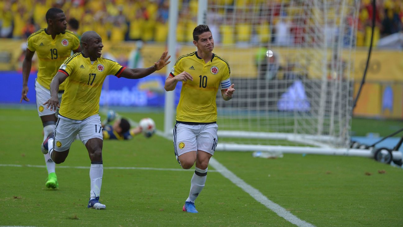 James celeb vs. Bolivia