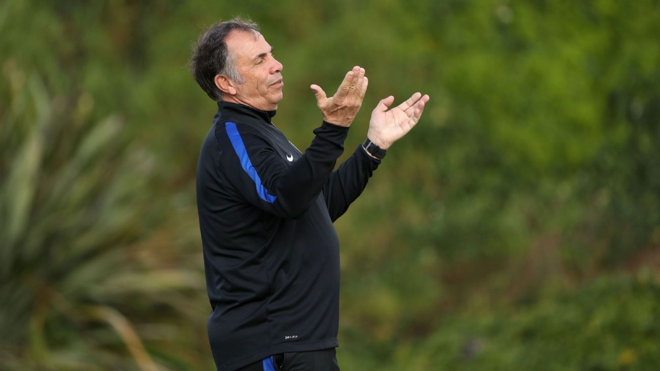 U.S. national team coach Bruce Arena