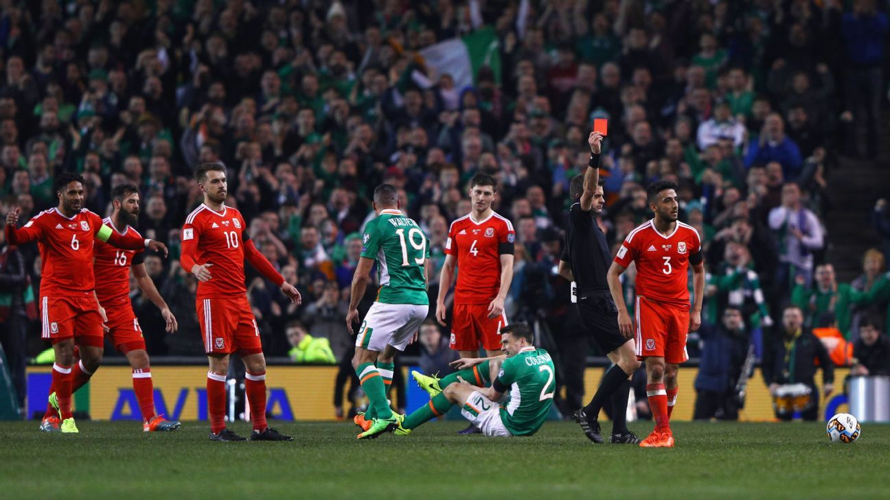 Wales' Neil Taylor gets two-game ban for Seamus Coleman tackle