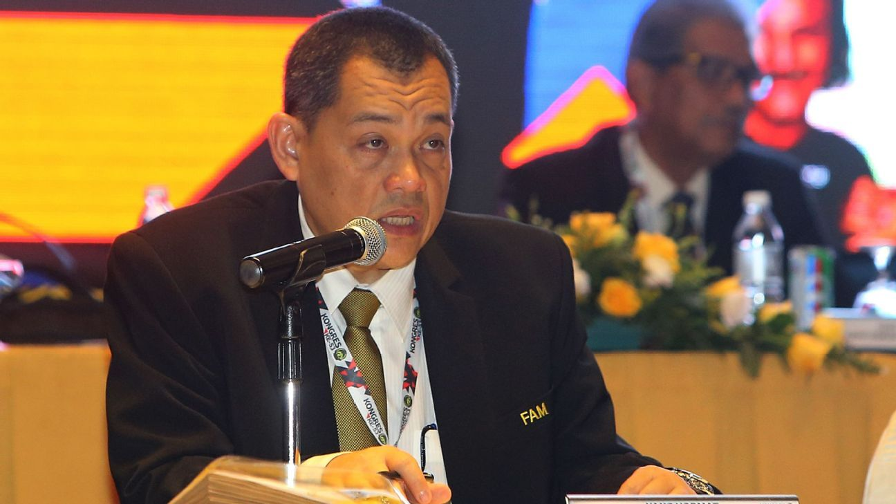 FAM General Secretary Hamidin  at 2017 FAM Congress