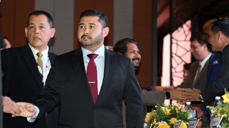 New FAM President TMJ with Hamidin