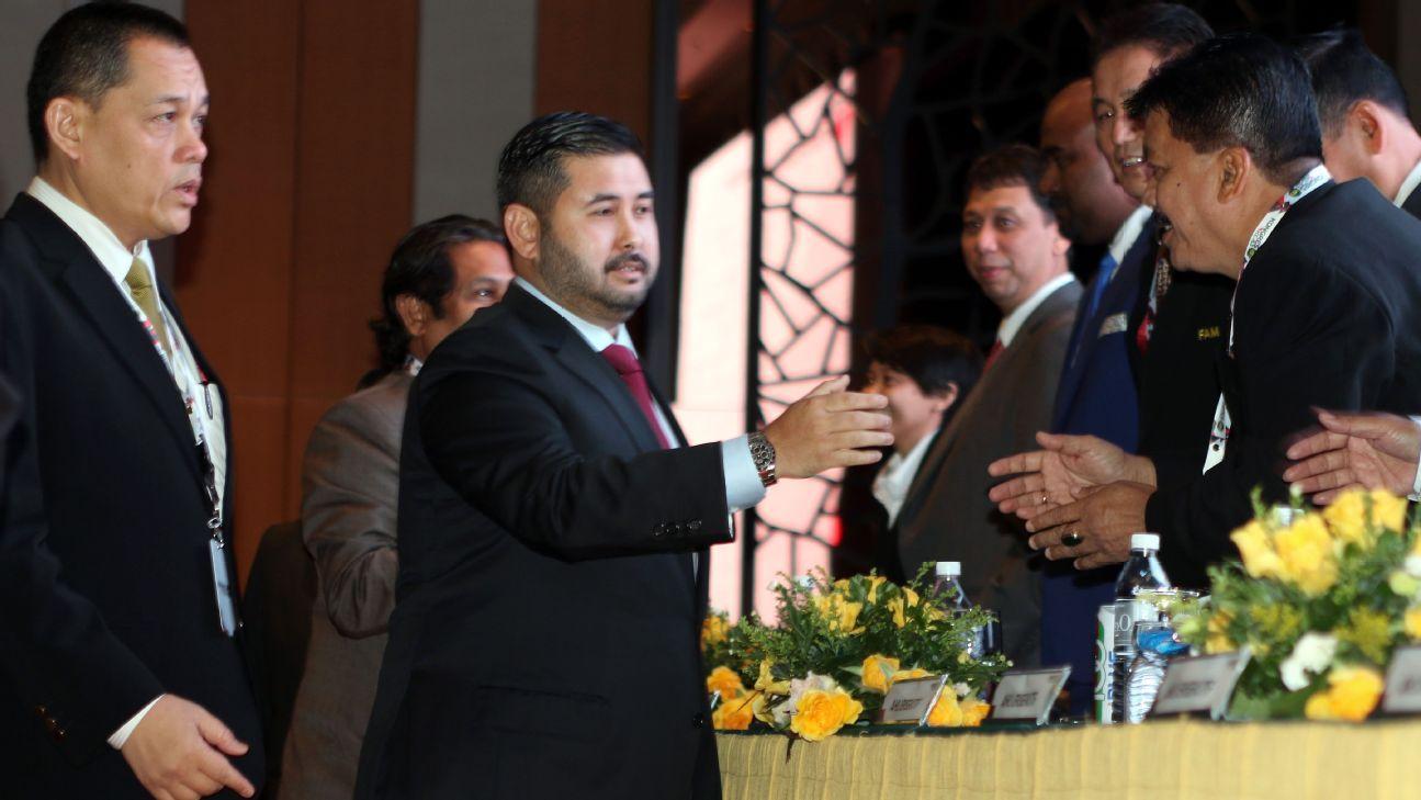 FAM President TMJ Johor Prince