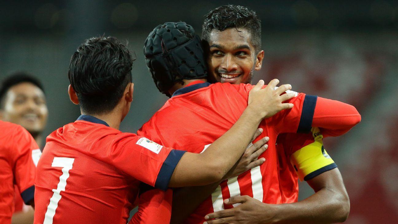 Singapore midfielder Hariss Harun