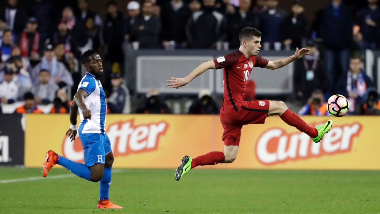 Christian Pulisic had freedom to create and attack as a part of Bruce Arena's USMNT lineup against Honduras.