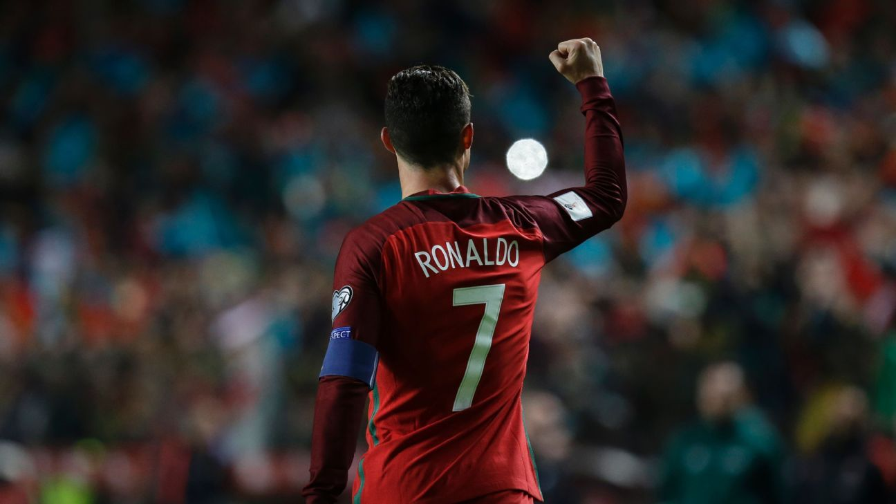 Cristiano Ronaldo says his goals 'are not the most important thing' as Portugal win