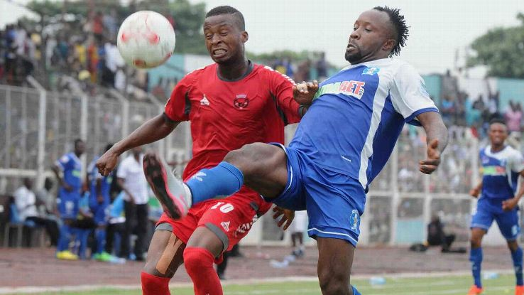 Enugu Rangers during a league encounter in the NPFL.