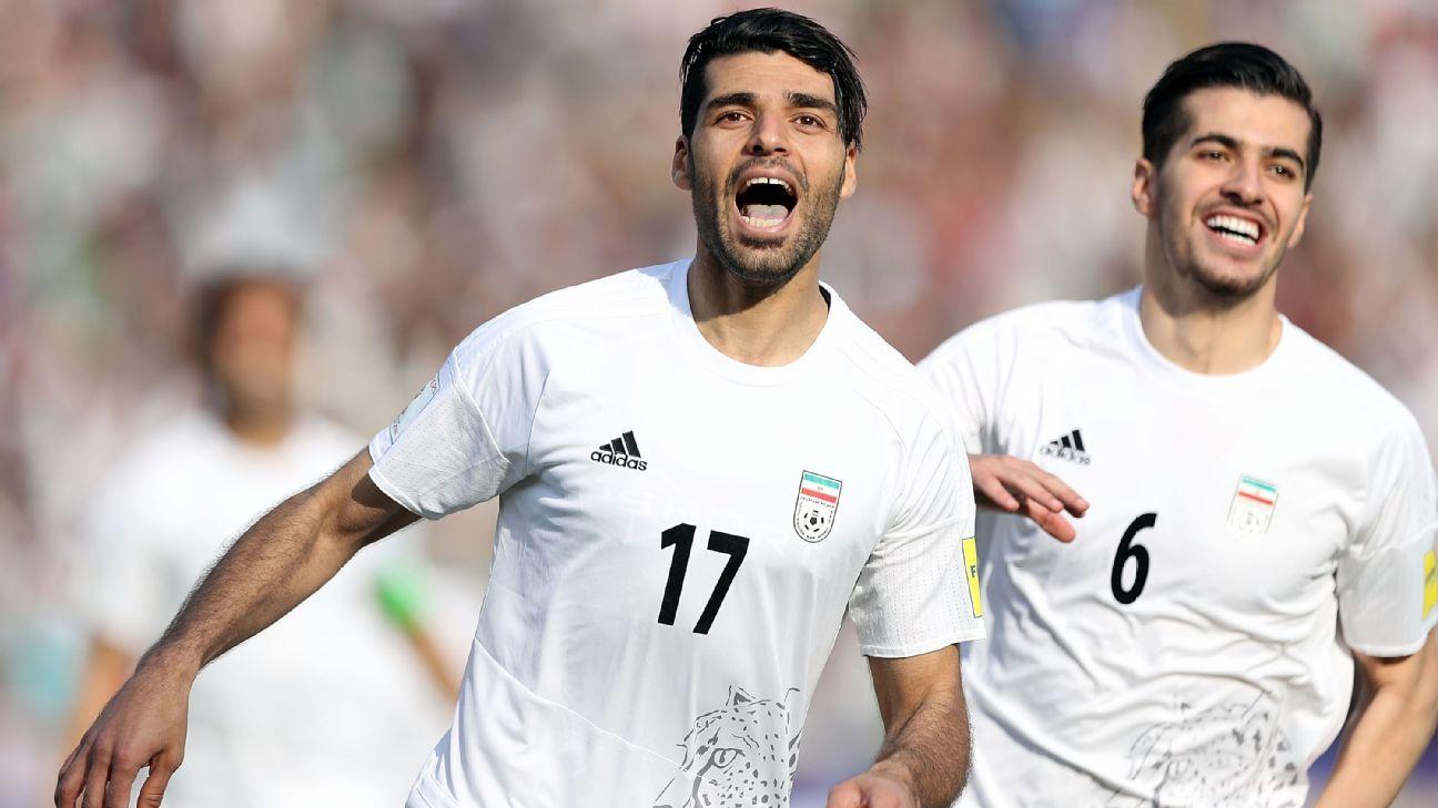 Iran striker  Mehdi Taremi