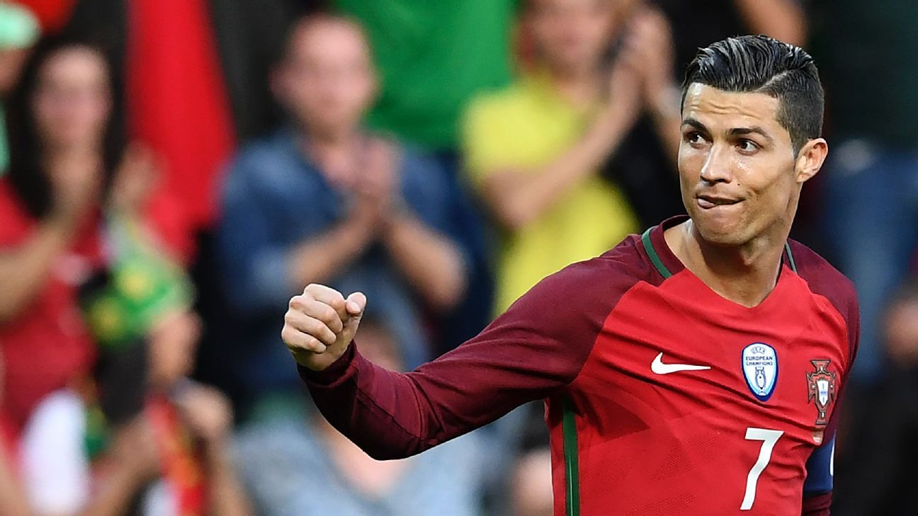Cristiano Ronaldo scored for Portugal, who could not hold the lead.