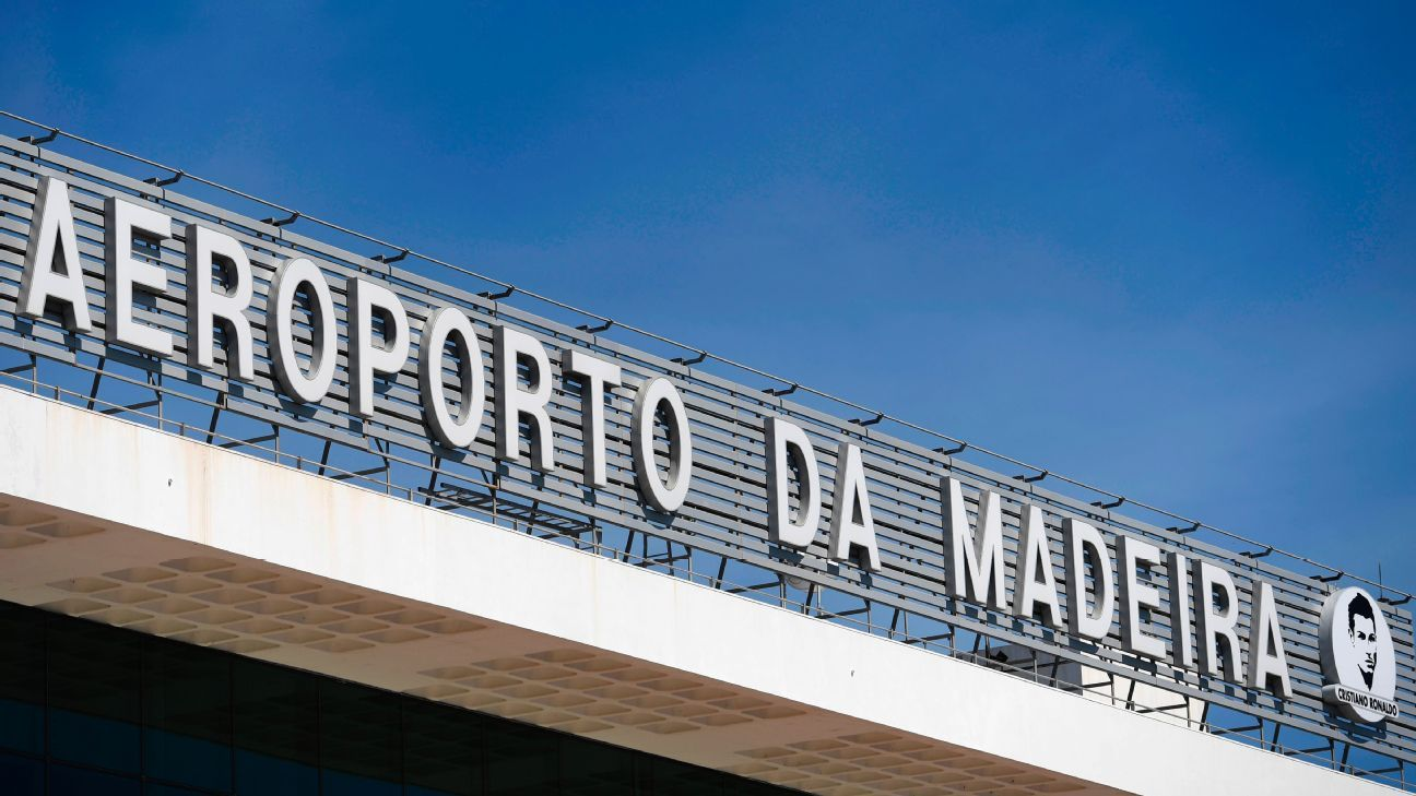 Cristiano Ronaldo honoured after Madeira airport is renamed after him