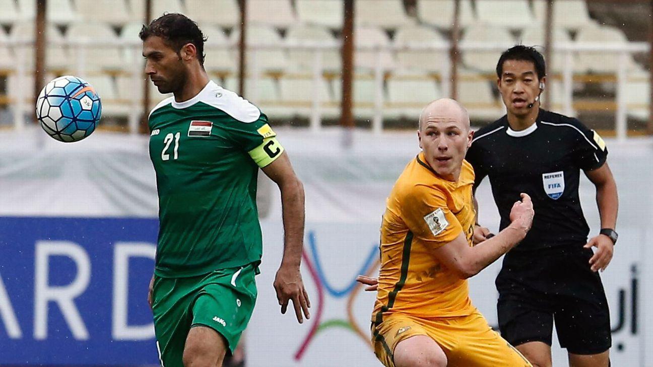 Saad Abdul-Amir & Aaron Mooy