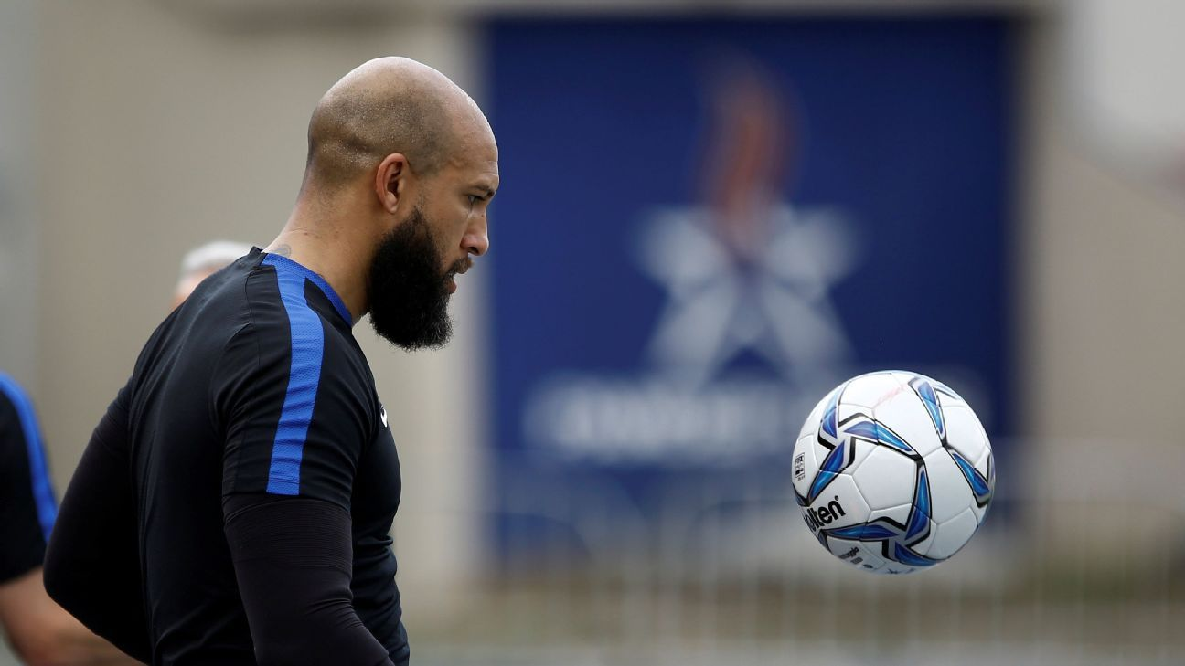Veteran Tim Howard is still the top option at goalkeeper for the United States, and continues to provide steady performances while leading the defense.