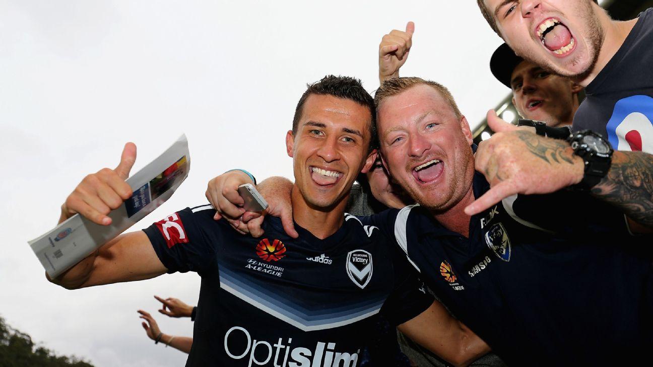 Melbourne Victory's Daniel Georgievski