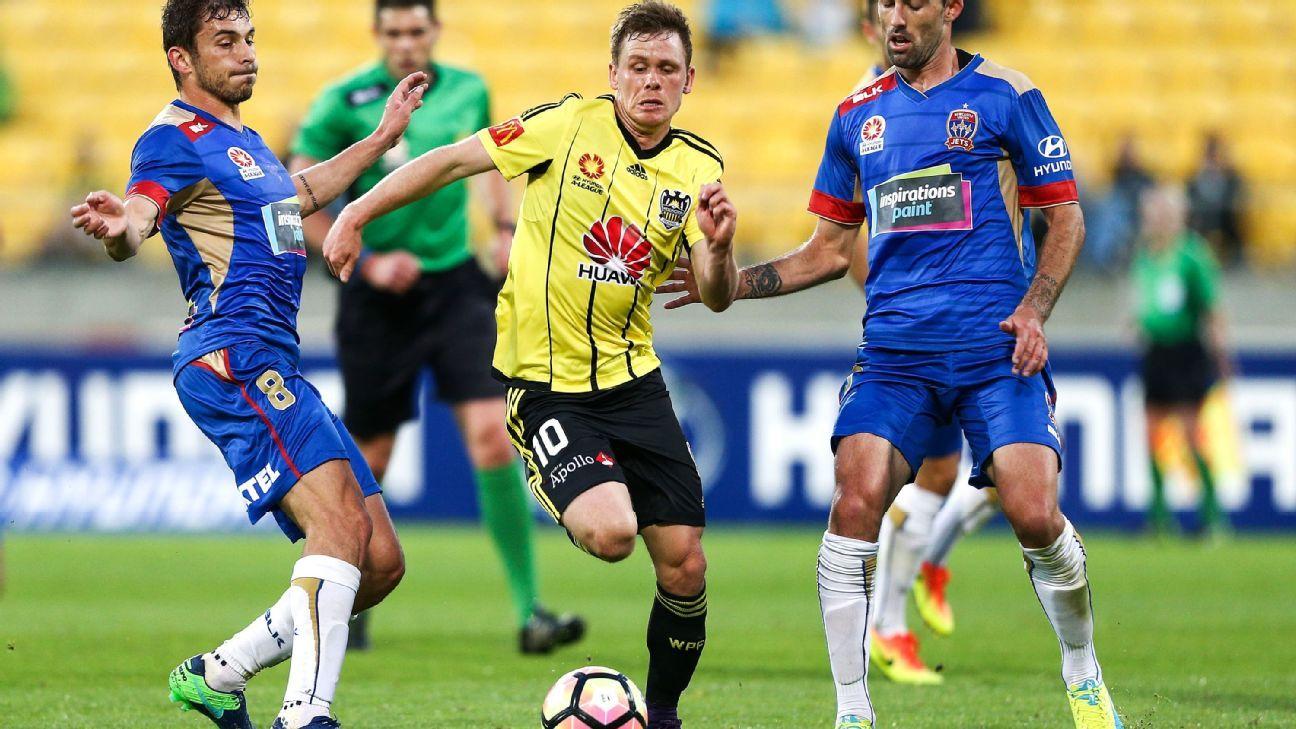 Wellington Phoenix's Michael McGlinchey