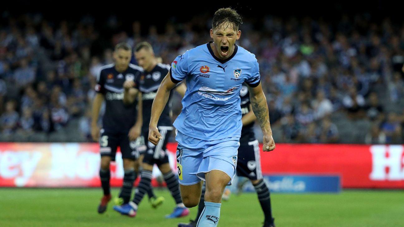 Sydney FC striker Filip Holosko