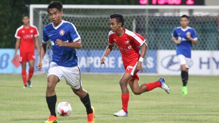 Home United forward Faris Ramli