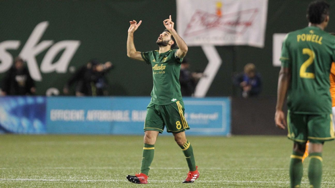 Portland Timbers' Diego Valeri, Jake Gleeson out with injury vs. FC Dallas