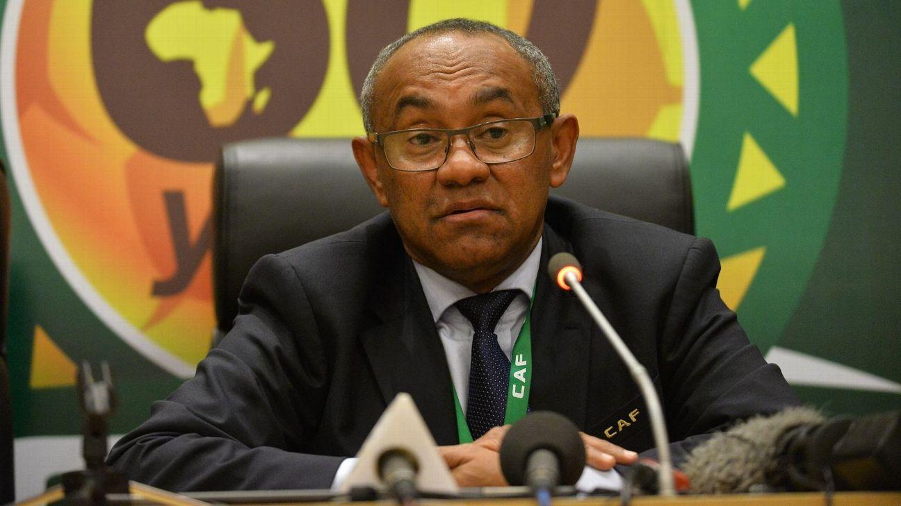CAF President Ahmad