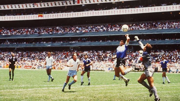 Diego Maradona's Hand of God proved that cheating isn't always immoral