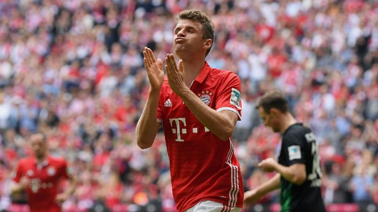 Thomas Muller 39 S Form Coming At Right Time For Bayern