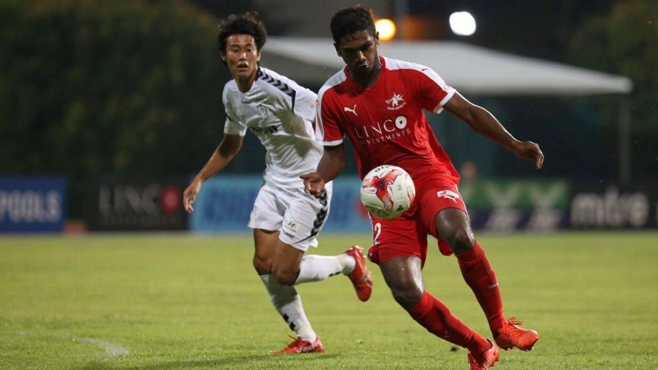 Hariss Harun for Home United v Albirex