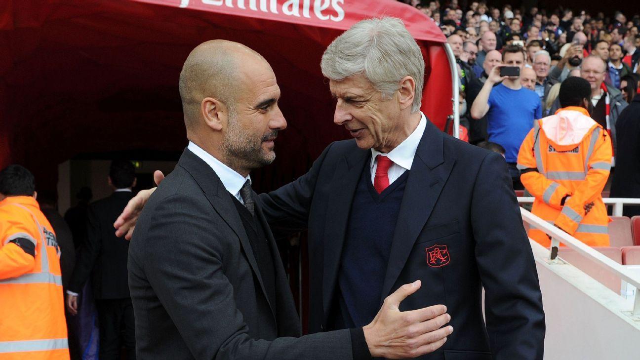 Arsene Wenger makes Manchester City transfer barb