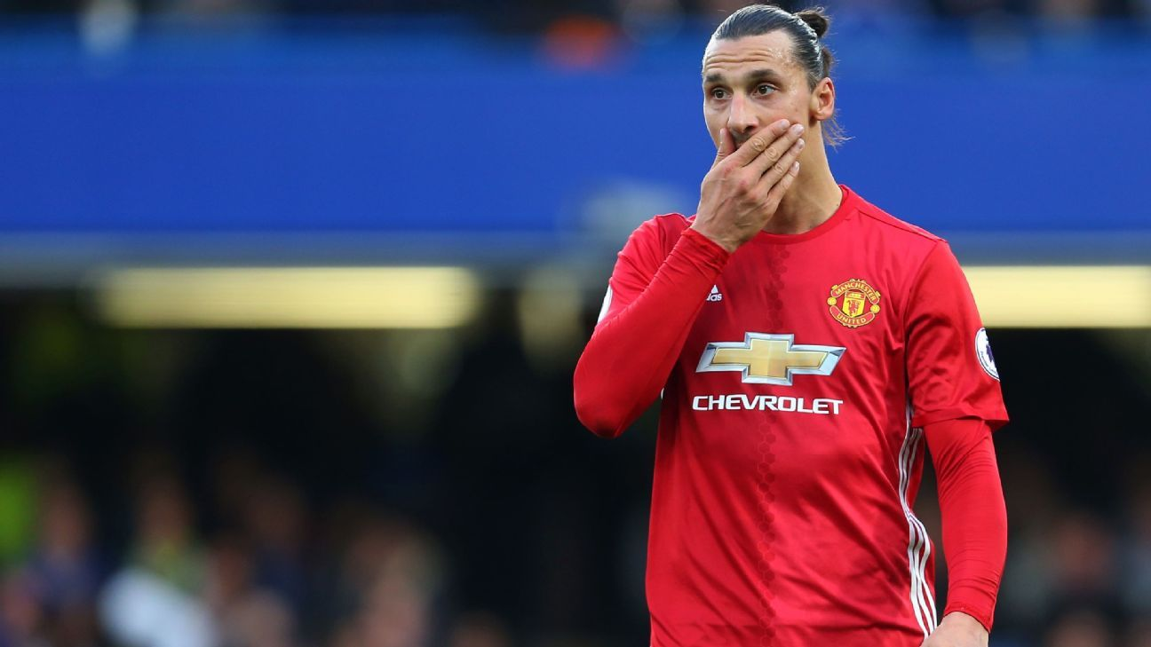 Zlatan Ibrahimovic has not played for Manchester United since April.