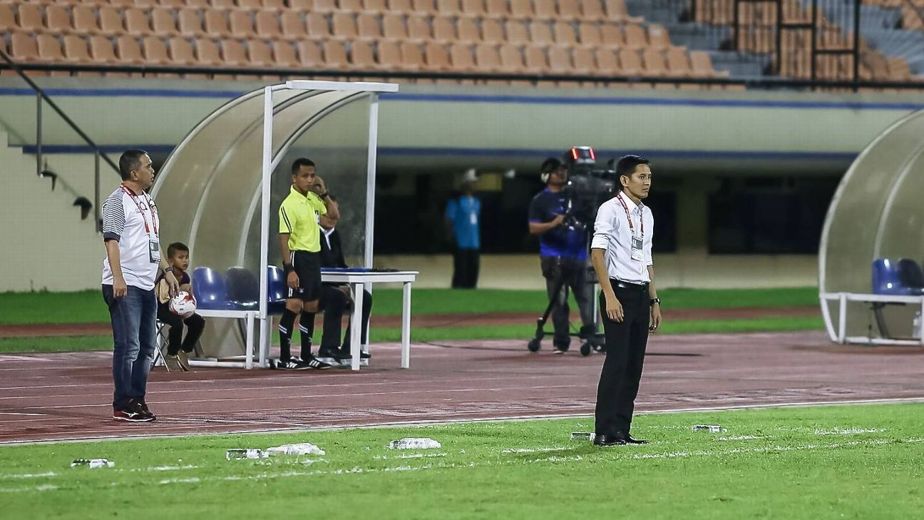 Hougang United coach Philippe Aw