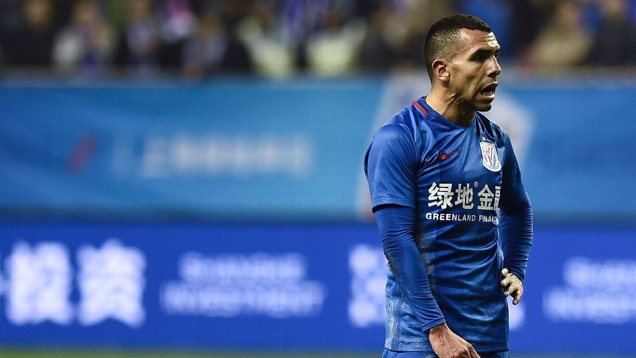 Shanghai Shenhua reject Carlos Tevez reserve talk, but tell him to try harder