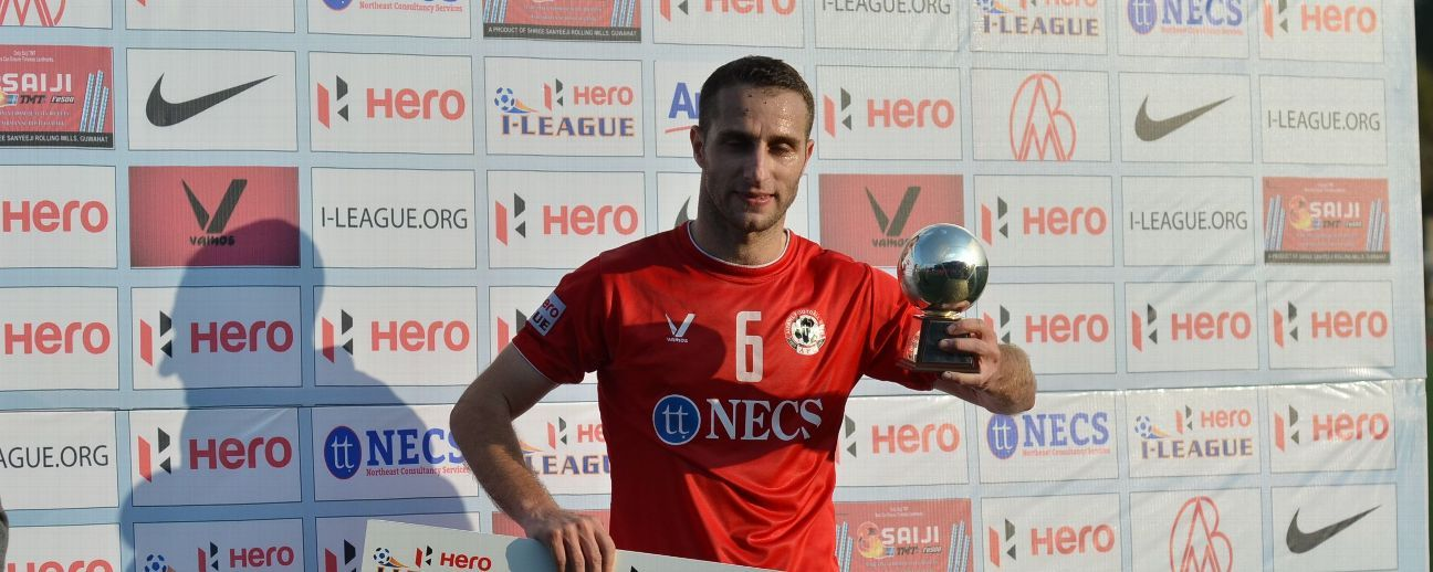 Syria's Mahmoud Amnah was part of the Aizawl FC team that won the last edition of the I-League.