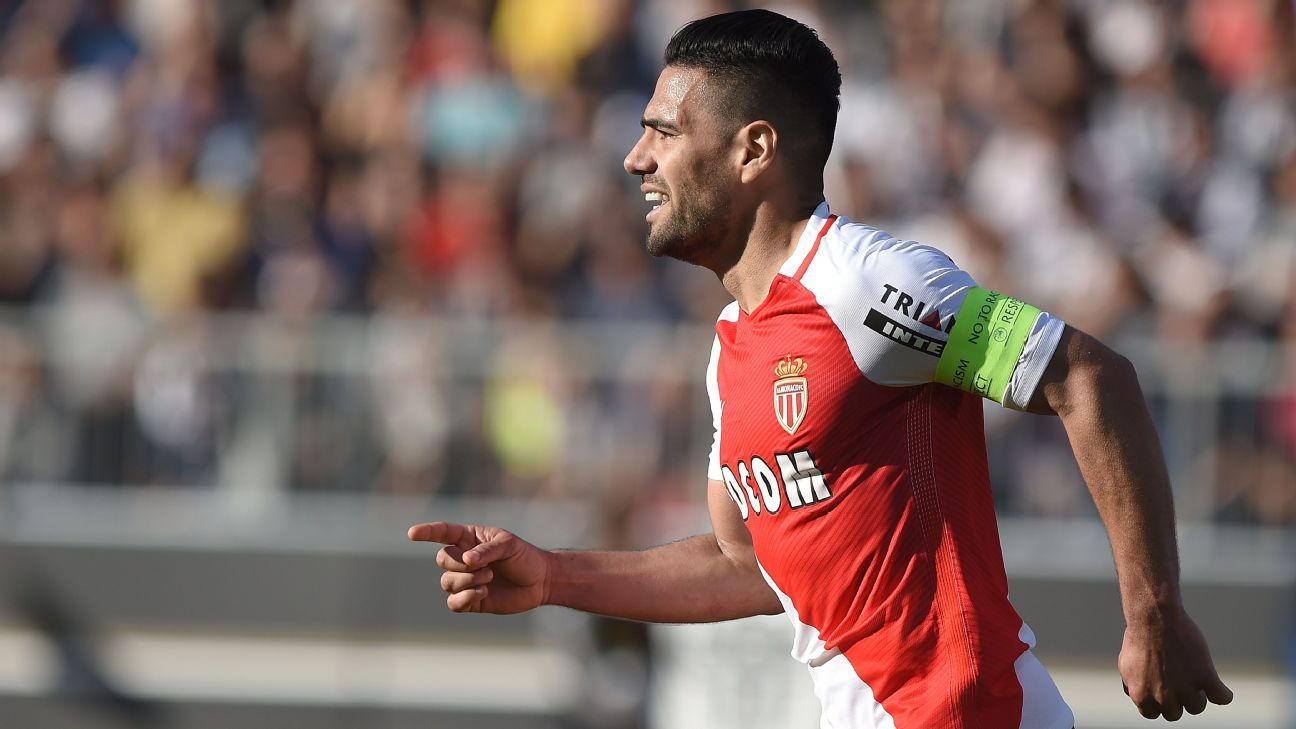 Radamel Falcao scored the only goal for Monaco on Saturday.