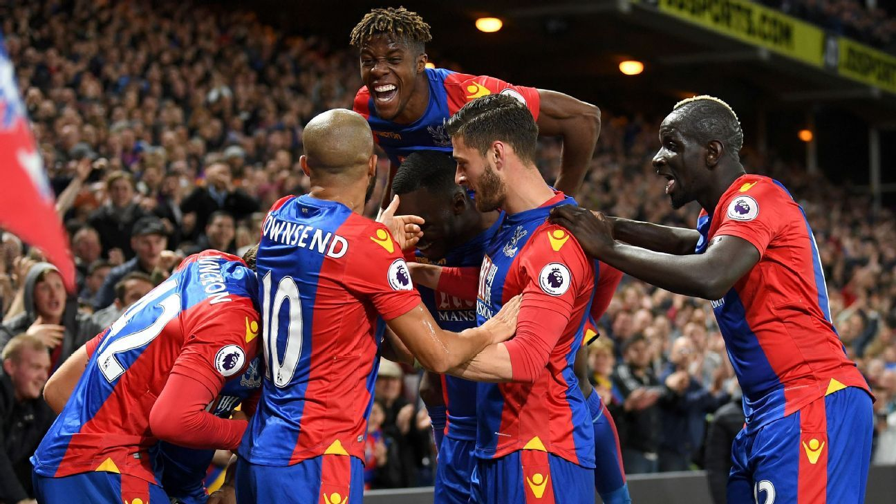 Crystal Palace moved six points clear of the bottom three with Monday's win.