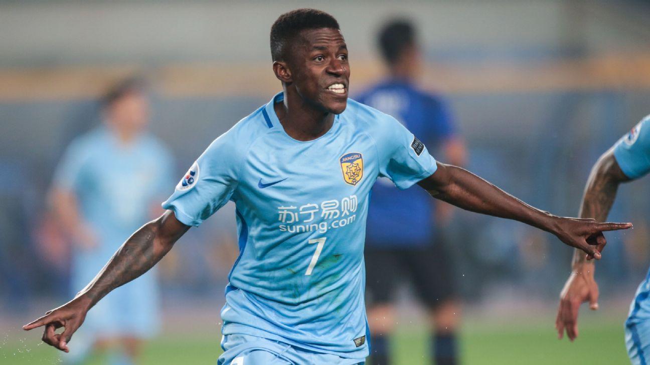 Ramires scores for Jiangsu v Gamba in ACL