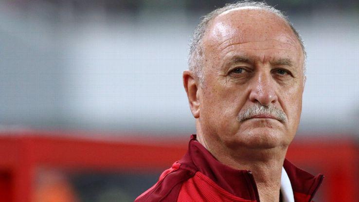Guangzhou Evergrande coach Luiz Felipe Scolari