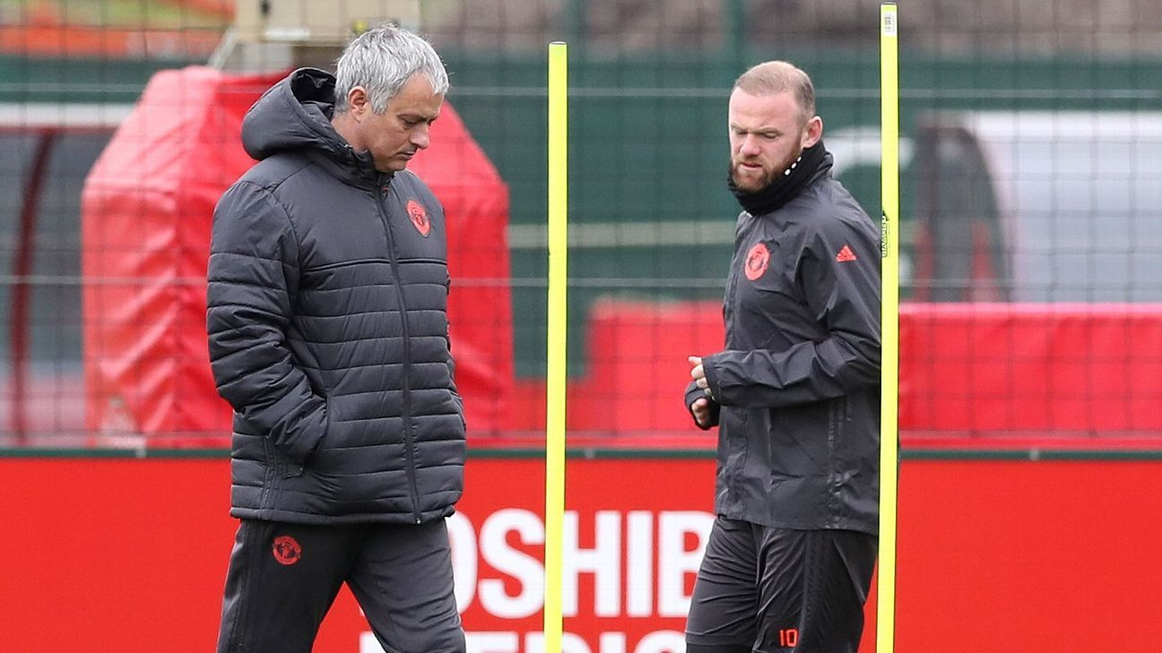 Wayne Rooney returned to Manchester United training ahead of the Europa League clash with Anderlecht.