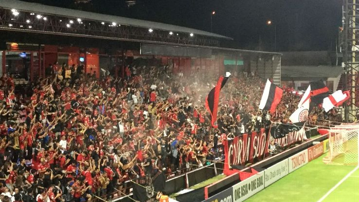 Muang Thong fans in ACL match