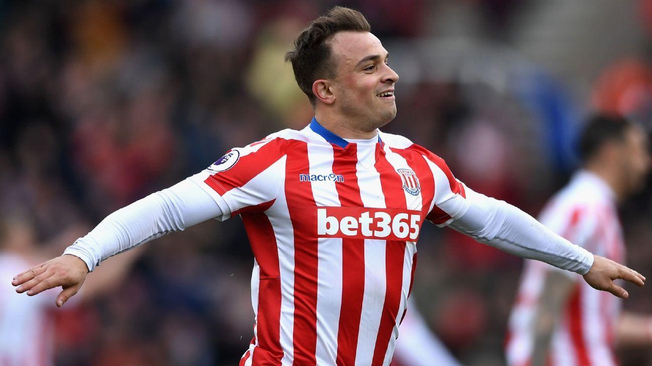 Stoke have 'no plans to sell' Xherdan Shaqiri - chairman Peter Coates