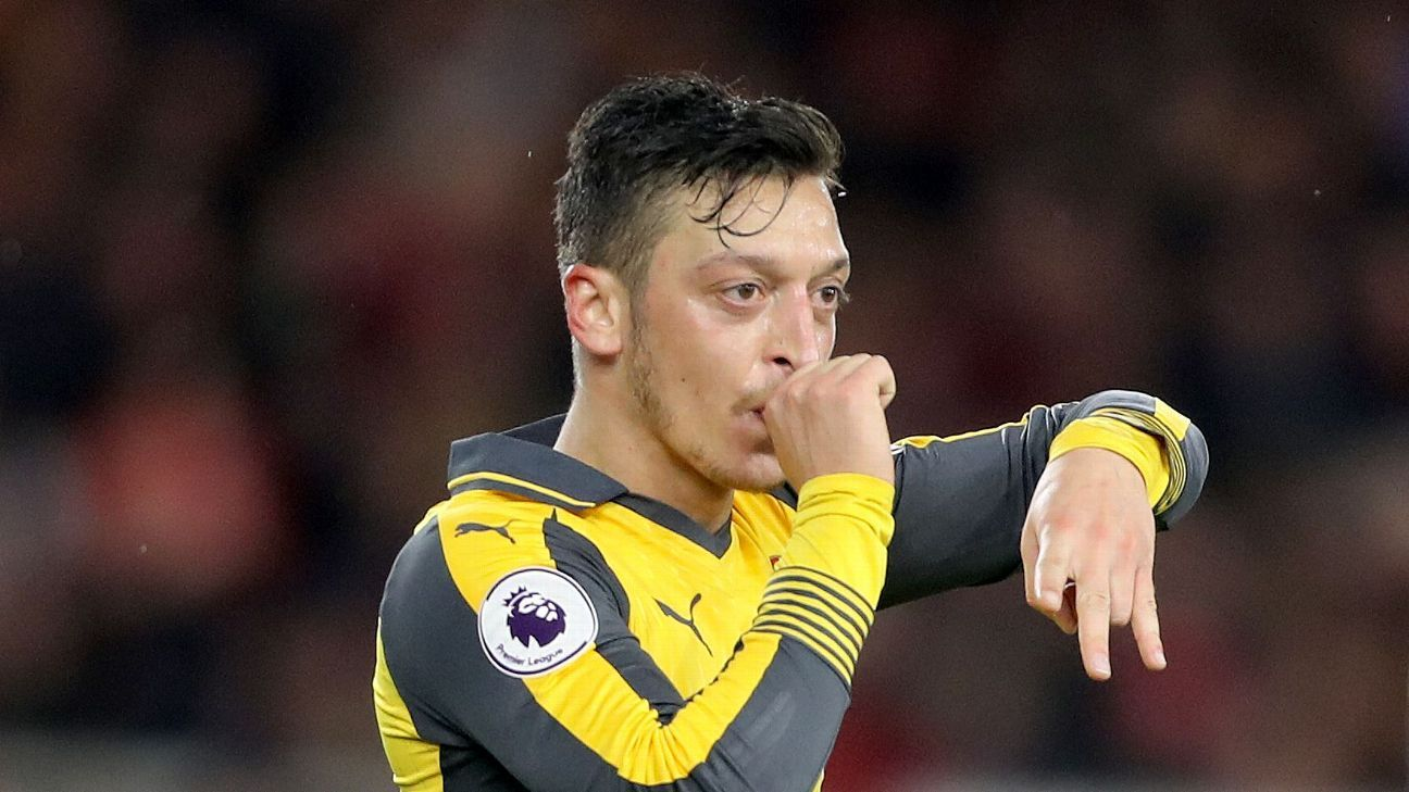 Despite his goal, Ozil doesn't convince as Arsenal edge past Middlesbrough