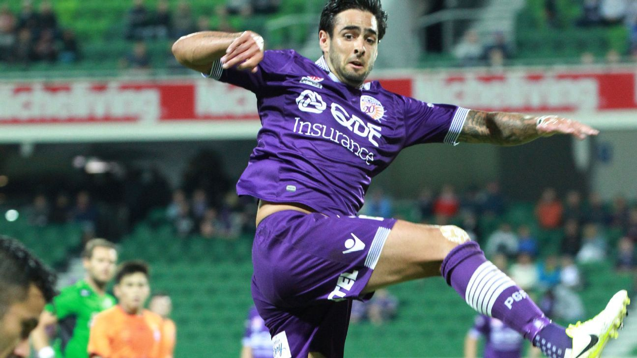 Perth Glory defender Rhys Williams