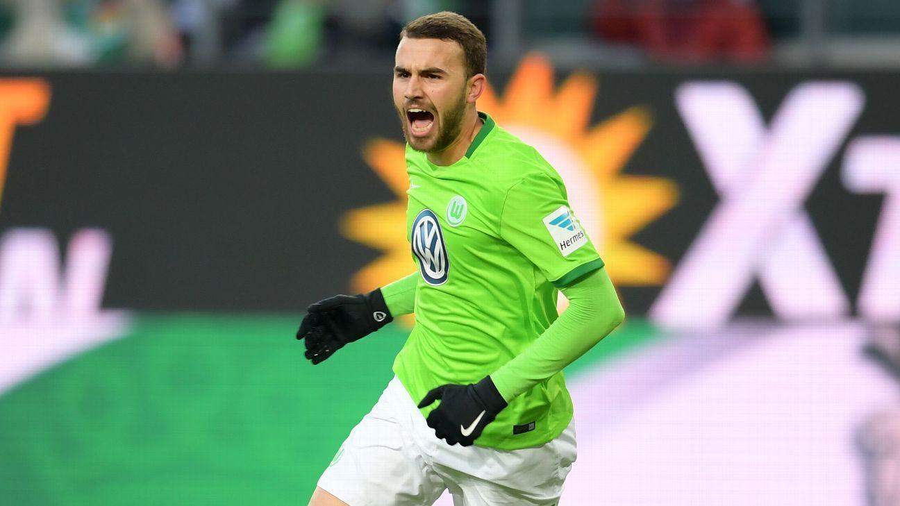 Borja Mayoral Wolfsburg