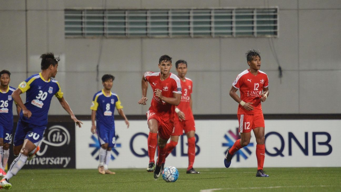 Irfan Fandi for Home United in AFC Cup