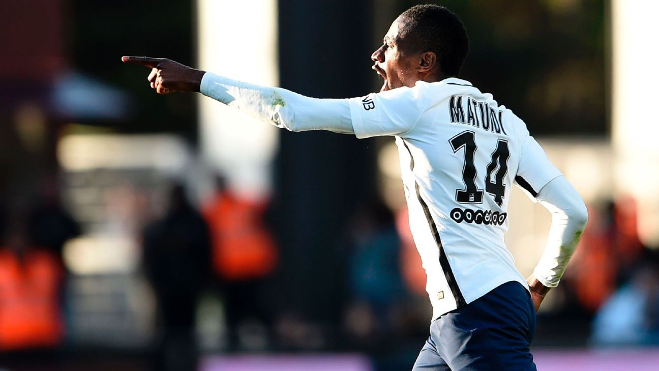 Paris Saint-Germain's Blaise Matuidi uncertain over his future