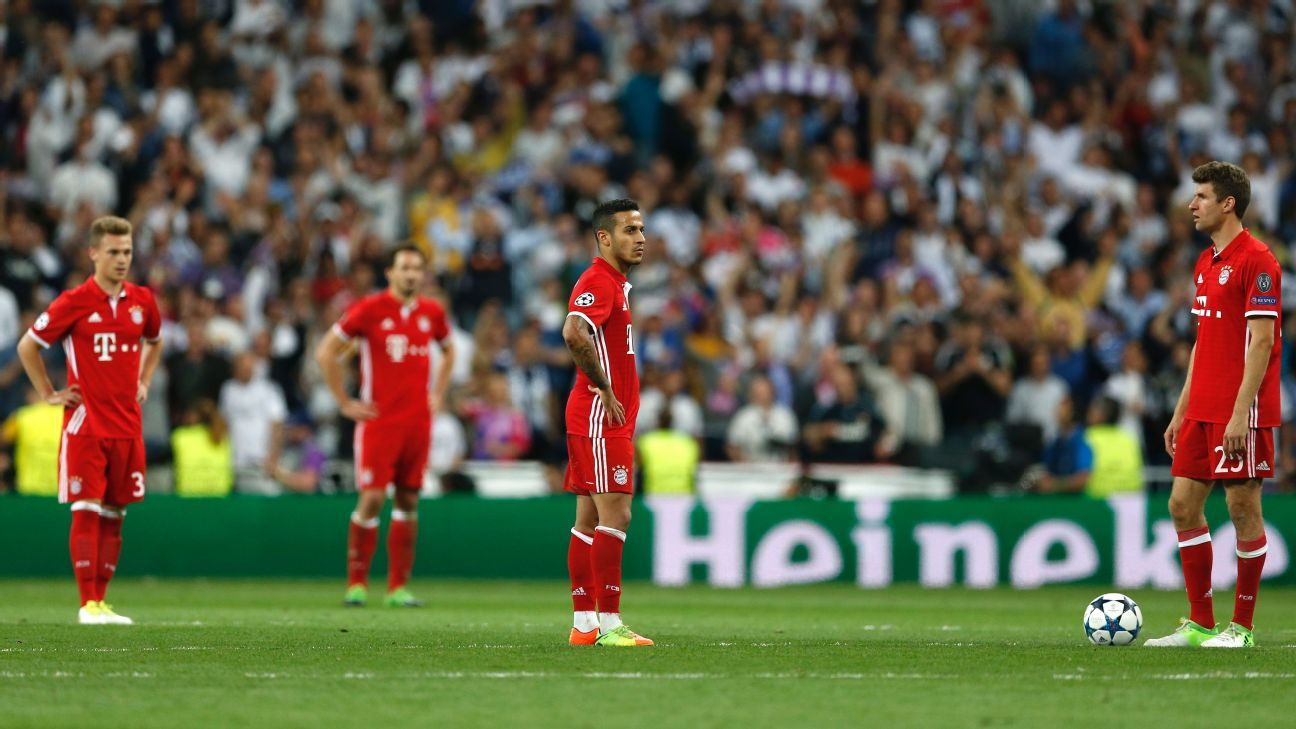Bayern Munich were dumped out of the competition by Real Madrid last season.