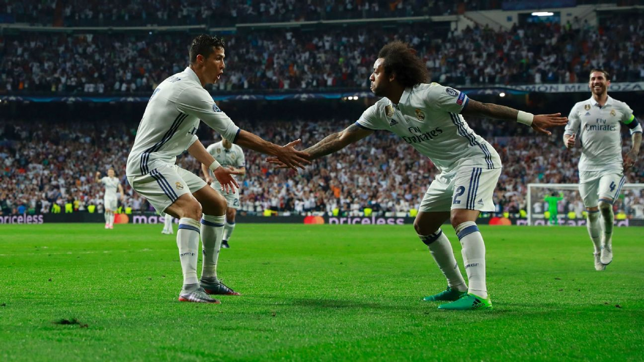 Marcelo says Real Madrid teammates stand with Cristiano ...